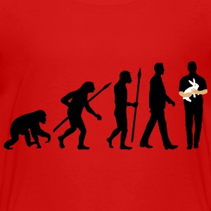 evolution_of_man_kaninchenzuechter01_3c Kids' Shirts - Kids' Premium T-Shirt