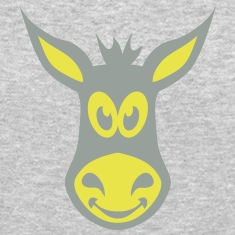 donkey drawing funny animals 40315 Long Sleeve Shirts