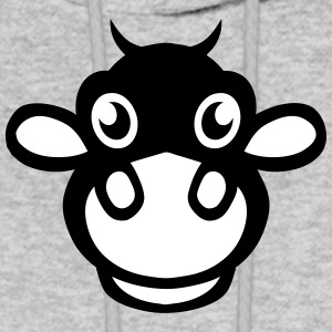 cow drawing funny animals 40315 Hoodies - Men's Hoodie