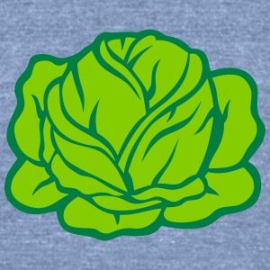 cabbage salad vegetable 403 T-Shirts - Unisex Tri-Blend T-Shirt by American Apparel