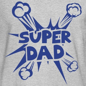 super dad explosion 4022 Long Sleeve Shirts - Men's Long Sleeve T-Shirt