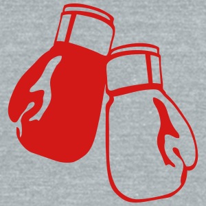 sports boxing glove 12 T-Shirts - Unisex Tri-Blend T-Shirt by American Apparel