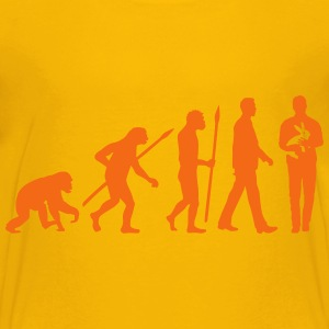 evolution_of_man_kaninchenzuechter03_1c Kids' Shirts - Kids' Premium T-Shirt