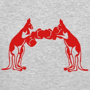 kangaroo boxing glove 4022 Long Sleeve Shirts - Crewneck Sweatshirt