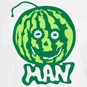 watermelon man 1 Long Sleeve Shirts - Men's Long Sleeve T-Shirt