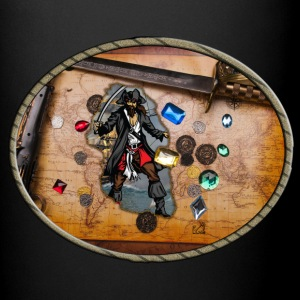 Pirate treasure map - Full Color Mug