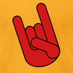 Rock On! - Men's T-Shirt by American Apparel