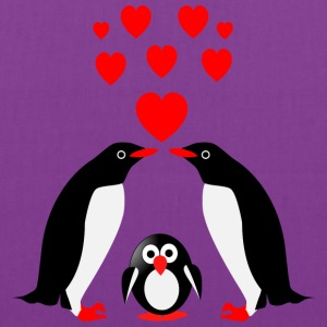 Penguins family Bags & backpacks - Tote Bag