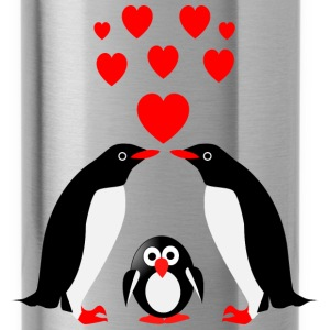 Penguins family Sportswear - Water Bottle