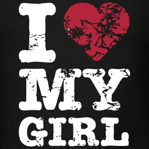 I Heart My Girl T-Shirts - Men's T-Shirt