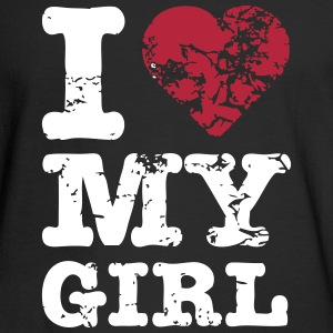 I Heart My Girl Long Sleeve Shirts - Men's Long Sleeve T-Shirt
