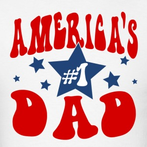 America's #1 Dad t-shirt - Men's T-Shirt