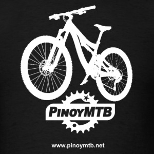 Pinoy MTB - Filipino Mountain Bike T-Shirt - Men's T-Shirt