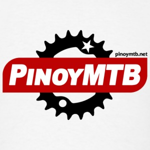 Pinoy MTB Logo - Filipino Mountain Bike T-Shirt - Men's T-Shirt