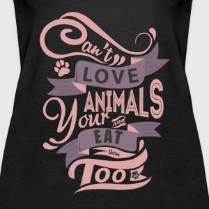 Premium Tank Top for Animal Lovers - Women's Premium Tank Top