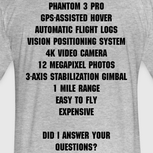 Did I answer your question? DJI Drone - Fitted Cotton/Poly T-Shirt by Next Level