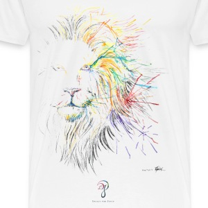 LION T-Shirts - Men's Premium T-Shirt