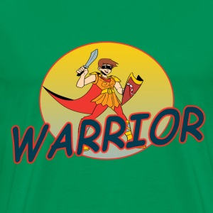 Warrior - Men's Premium T-Shirt
