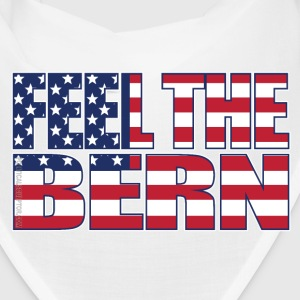 Feel the Bern American Flag - Bandana