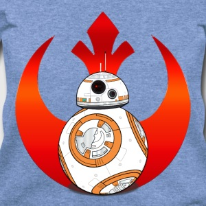 Rebel BB8 Long Sleeve Shirts - Women's Wideneck Sweatshirt