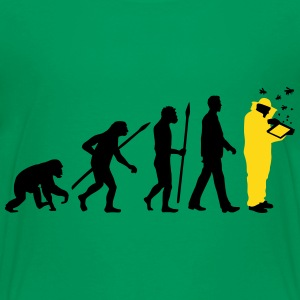 evolution of man beekeeper Kids' Shirts - Kids' Premium T-Shirt