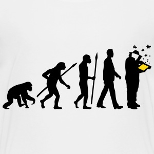 evolution_of_man_imker01_2c Kids' Shirts - Kids' Premium T-Shirt