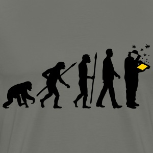 evolution_of_man_imker01_2c T-Shirts - Men's Premium T-Shirt