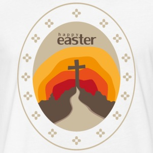 happy easter - Fitted Cotton/Poly T-Shirt by Next Level