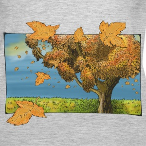 Tree in autumn - Women's Premium Tank Top