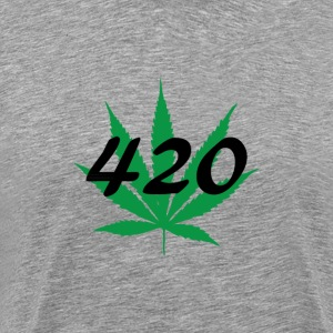 420 leaf T-Shirts - Men's Premium T-Shirt