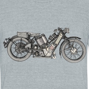 1929 Scott Super Squirrel motorcycle - Unisex Tri-Blend T-Shirt