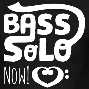 Bassist Shirt retro, Bass Solo Now! - Men's Ringer T-Shirt