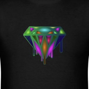 Dripping Diamond Colorful - Men's T-Shirt