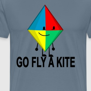 go_fly_a_kite - Men's Premium T-Shirt