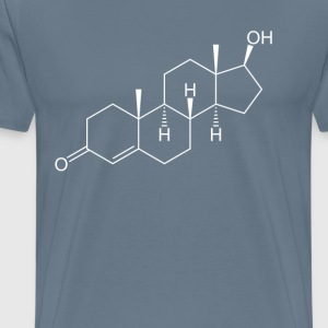 testosterone_hormone_ - Men's Premium T-Shirt