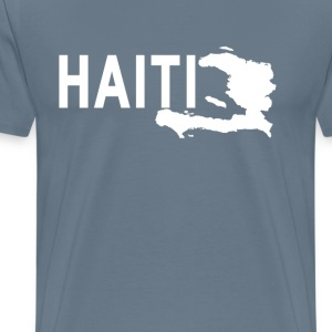 haiti_map_ - Men's Premium T-Shirt