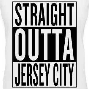 Jersey City Women's T-Shirts - Women's V-Neck T-Shirt