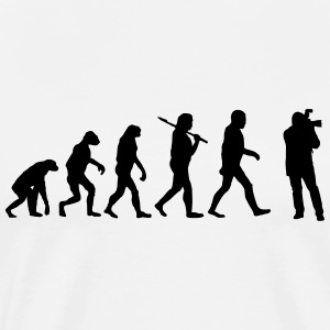 Evolution of photography T-Shirts - Men's Premium T-Shirt