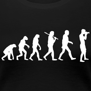 Evolution of photography Women's T-Shirts - Women's Premium T-Shirt