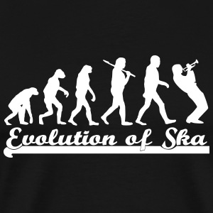 Evolution of Ska T-Shirts - Men's Premium T-Shirt