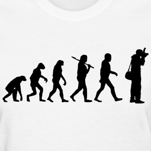 Evolution of photography Women's T-Shirts - Women's T-Shirt