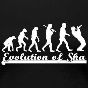 Evolution of Ska Women's T-Shirts - Women's Premium T-Shirt