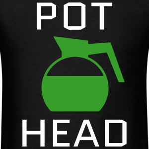 Pot Head T-Shirts - Men's T-Shirt