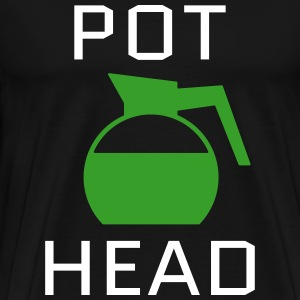 Pot Head T-Shirts - Men's Premium T-Shirt