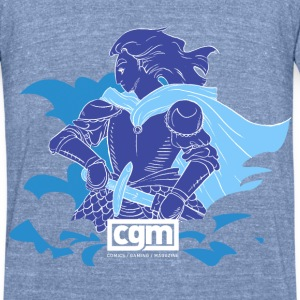 CGM Paladin Men's Top - Unisex Tri-Blend T-Shirt by American Apparel