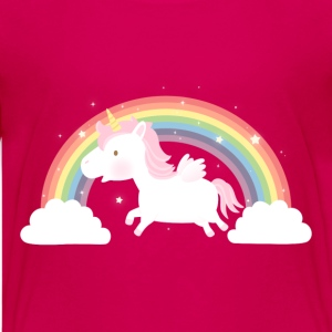 Cute Unicorn and Rainbow Kids' Shirts - Kids' Premium T-Shirt