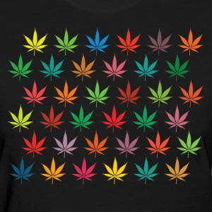 Colorful Leaves Women's T-Shirts - Women's T-Shirt