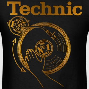 gold turntable T-Shirts - Men's T-Shirt
