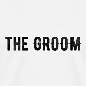 the groom tshirt - Men's Premium T-Shirt
