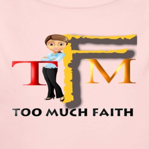 Too Much Faith - Long Sleeve Baby Bodysuit
